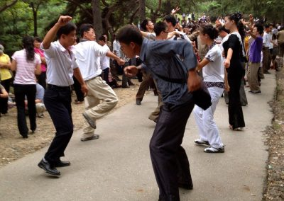 An-impromptu-dance-in-a-park-in-Pyongyang-on-National-Day