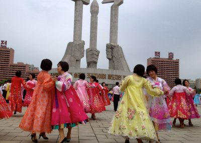 Women-in-costumes-participated-in-an-organized-dance
